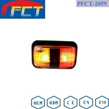 Amber and Red in one for led indicator lights truck trailer