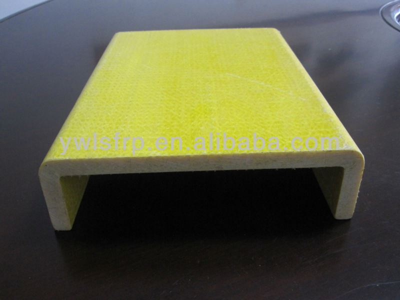 Polyester Resin Plastic C Channel Sizes