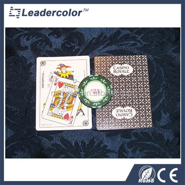 Hot sale customized professional plastic trading card