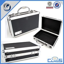 customed hand carry industry aluminum tool case laptop case