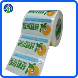 Custom Printed Roll Avery Self Adhesive Waterproof Clear Sticker Labels,Food Bottle Labels