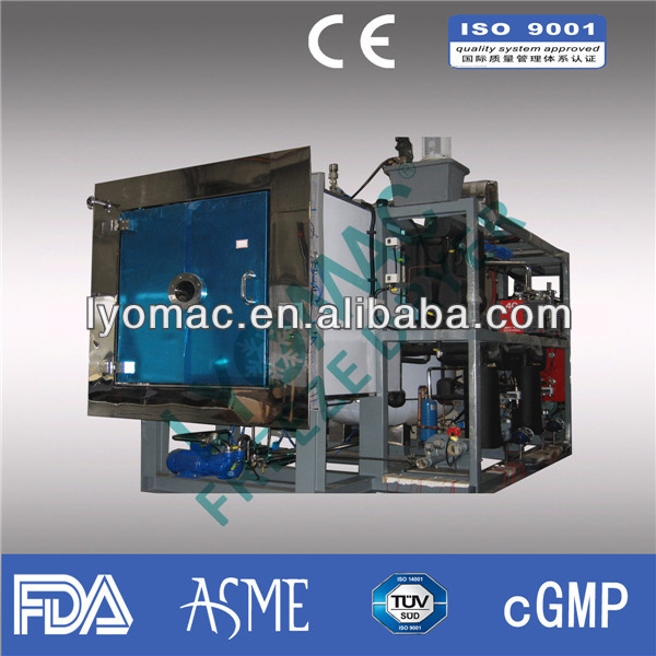 60KG capacity Production freeze dryer / lyophilizer for pharmaceutical
