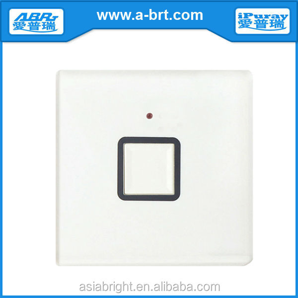 220V Wall switch with push button indicator light dimmer