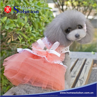 Wholesale summer dog clothes supplies pet wedding dress