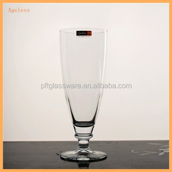 tall and thin drinking glass cup