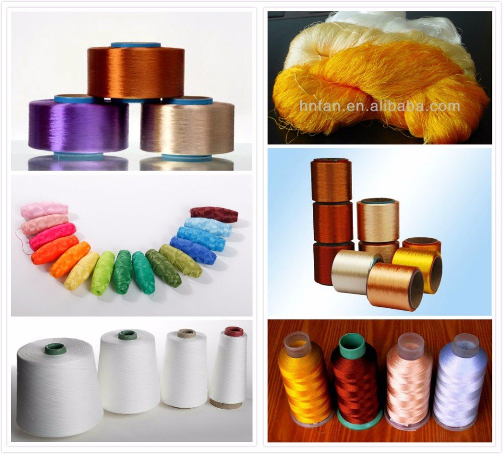 Free sample wholesale 30d/24f viscose rayon dyed thread