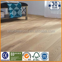 Stained distressed micro beveled teak wood price