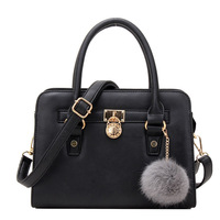 Korea Fashion Tote Leather Pu Lady Handbag Wholesale in Yiwu China