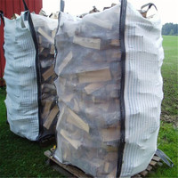 hot sell in Cananda !!! firewood big bags, firewood bulk bags, ventilated big bags
