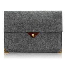 Custom made felt laptop sleeve case for Macbook Air/Pro