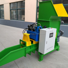 XPS densifier/eps foam compression recycling machine,eps crushing and compacting machine