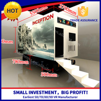 Long Life Span 7D 9D Mobile Cinema 5D Mobile Cinema Car Truck For Sale