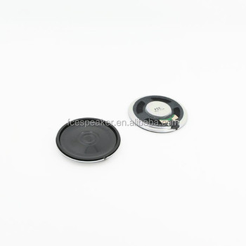 40mm 32ohm 0.2W micro mylar speaker for intercom