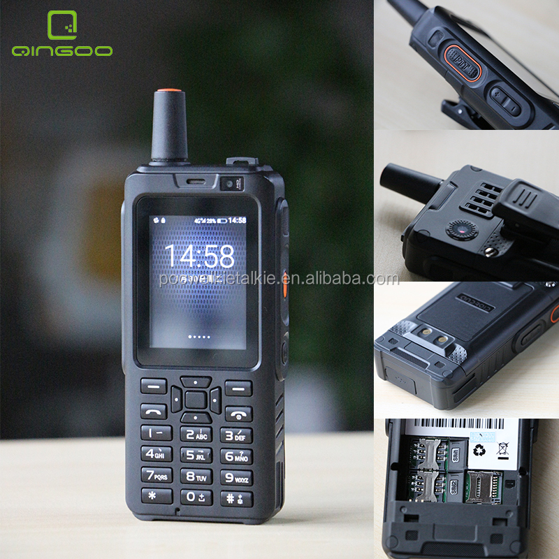 Qingoo W318 4G WCDMA/GSM/LTE Touch Screen PTT Network Walkie-talkie Radio