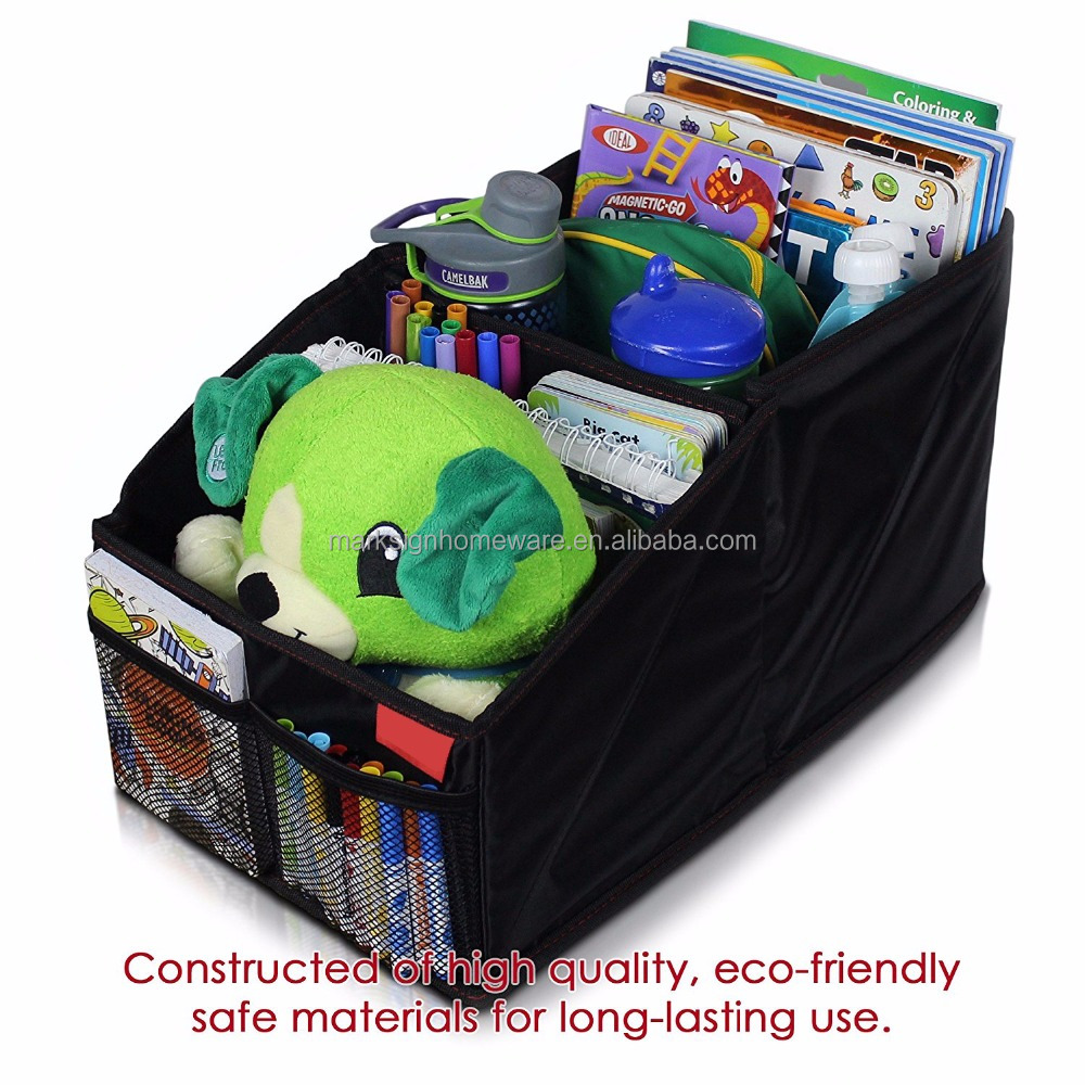 Car Seat Organizer with 8 Compartments