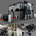 Aluminum Profile Two Storey Exhibition Booth for Car Trade Show
