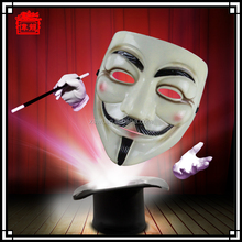 New Arrival Reliable Quality Hot Sale Resin V Vendetta Halloween Party Mask MJ01