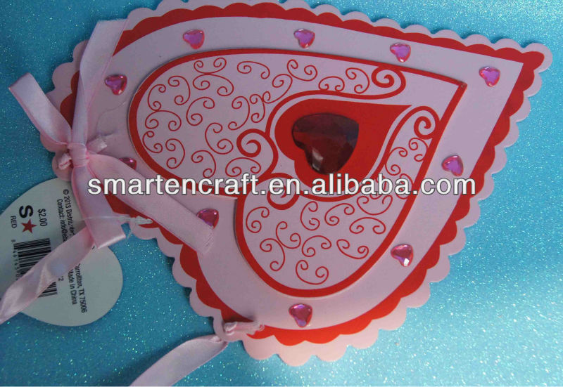 Hot DECORATIVE WOODEN HEART, wooden hanging heart