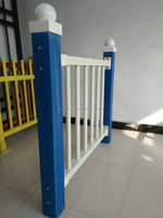 High Strength Imitation wood grain fiberglass Plastic fence