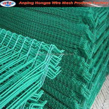 Vinly welded wire mesh with bending pannel and peach-type post (Manufacturer)