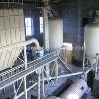 2~20T/h production line dolomite powder machine ball mill