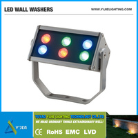 New Product YJX-0012A high power 12W IP65 waterproof RGB wall floor ceiling LED Outdoor Lights