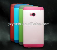 tpu case cover for htc one m7,plastic case for htc one m7,back case for htc one m7