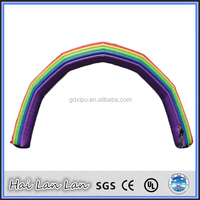 High Quality Air Arch Inflatable inflatable rainbow arch
