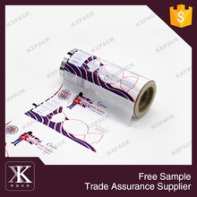 Professional supply OEM food packaging opp plastic film rolls for candy