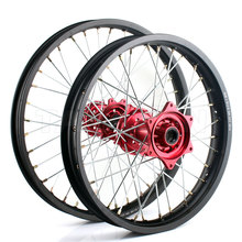 CRF Supermoto CNC Aluminium alloy Spoke wheels for Motorcycle