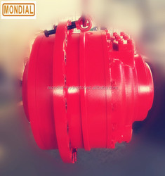 Interchangable hagglunds CA CB hydraulic motor use for plastic injection machine