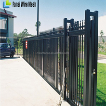 steel gate design/design of school gate/wrought iron gates models