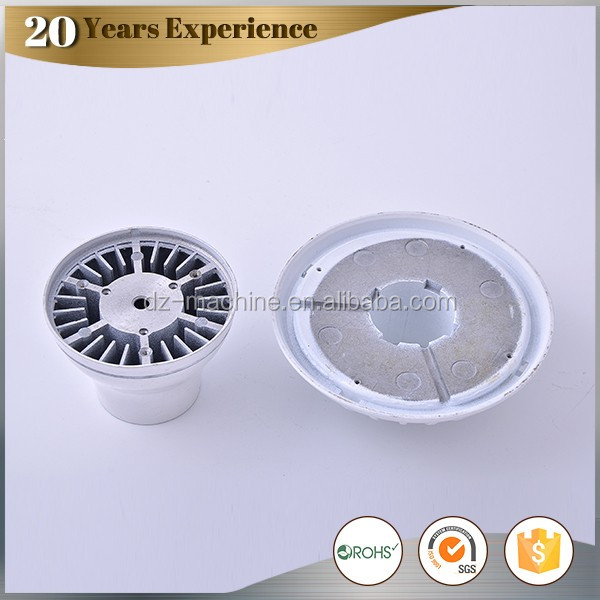 LED Light Spare Parts with die cast aluminum led housing