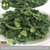 100% Natural Green Healthy Vegetables Freeze Dried Organic Spinach