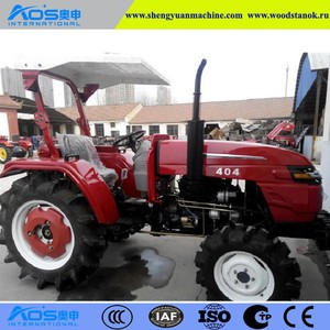 China Cheap Wheel Tractor With Good Production Line And Package