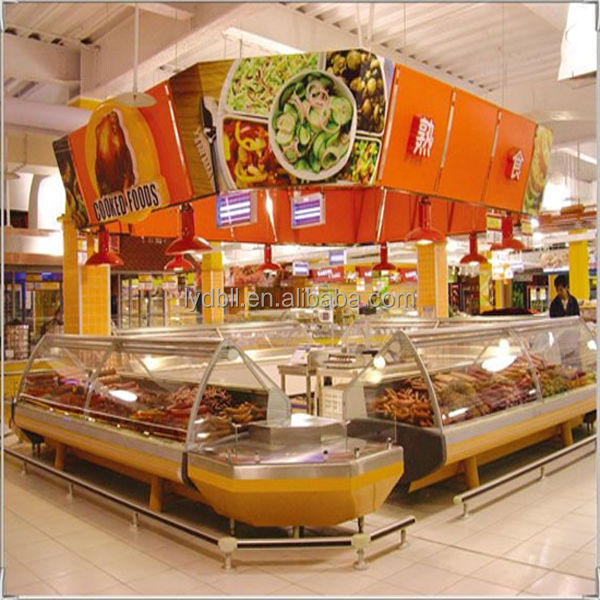 electronic Heated deli showcase,