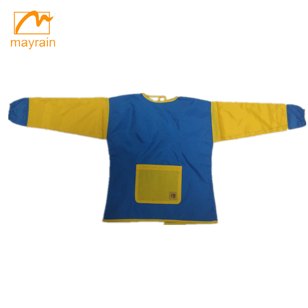 Breathable Polyester Fabric Art Children Aprons