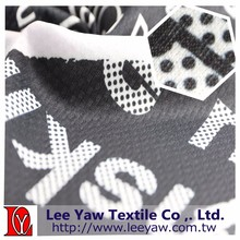 100% polyester thermal paper printed fabric for sportswear
