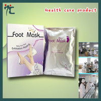 Whitening peeling foot mask for skin care and foot spa