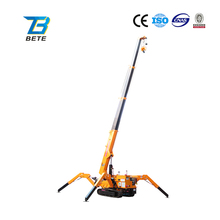 Lifting Capacity 3 Tons Mini Portable Crane for Narrow Working Space