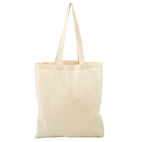 Custom Logo Printed Cheap Promotional Cotton Canvas Tote Bag