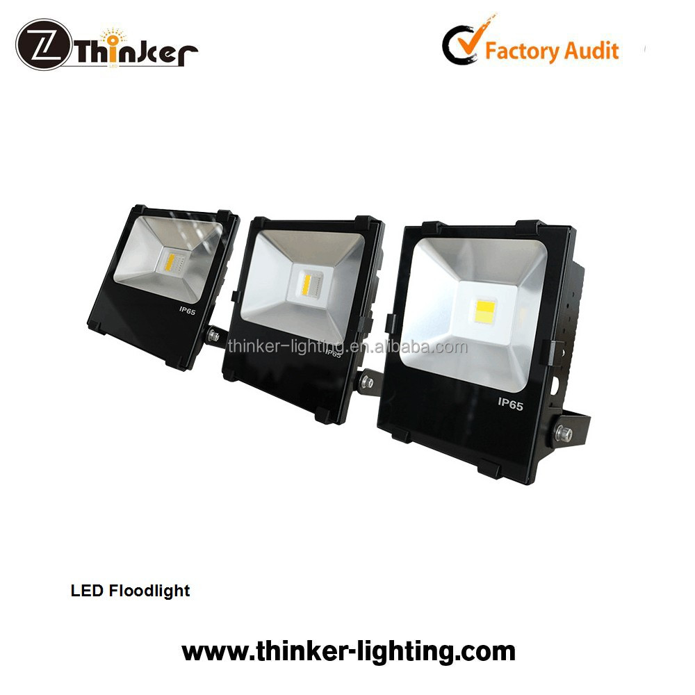 3-dimension heat dissipation LED flood light IP65 LED flood light 90W RGB+100W warmwhite RGBW LED flood light