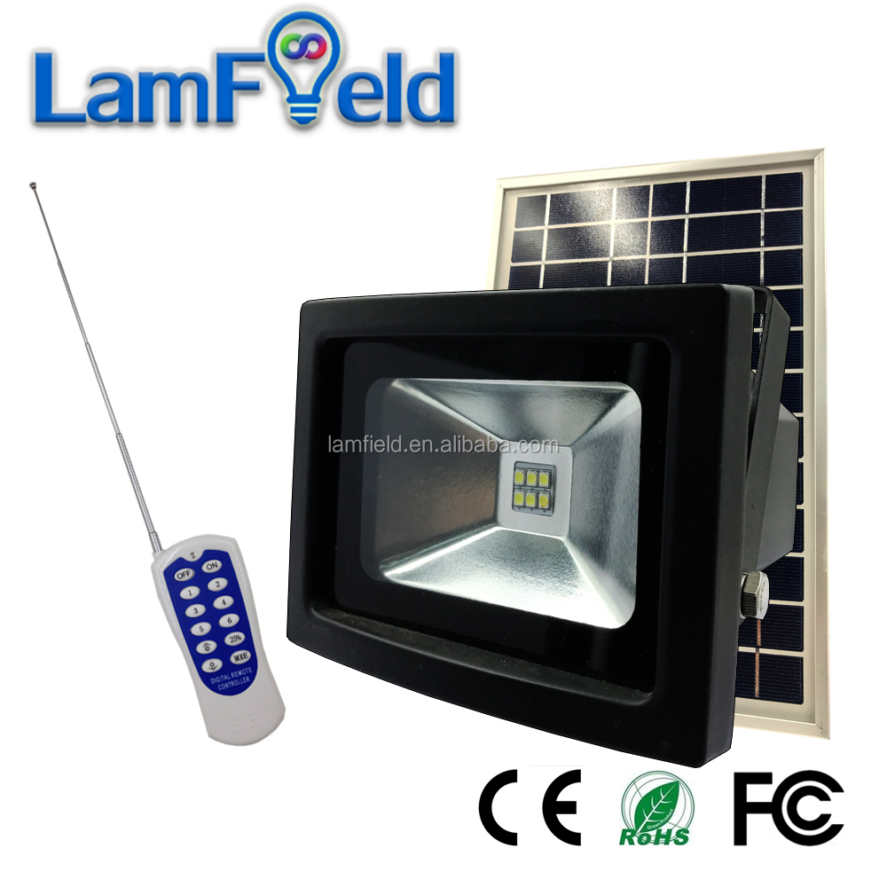 RF Control 3W LED Solar Flood Light For Outdoor Lighting