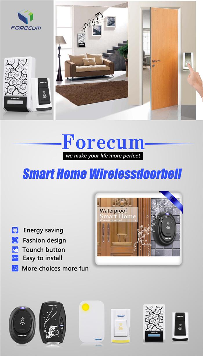 forecum 100m digital wireless remote control apartment