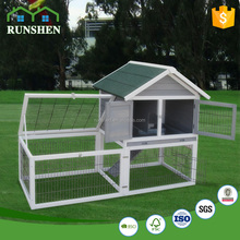 Cheap Wood Rabbit Hutch Folding Pet Fence Cage For Rabbit