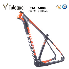 Mint Carbon fiber 29er MTB frame Tideace T800 carbon bicycle frameset FM-009 carbon frame for mountain bike OEM