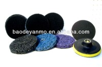 abrasive disc/grinding wheel paint removal discs Remove dust from steel