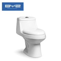 Factory cheap price siphonic s trap ceramic wc toilet for South america