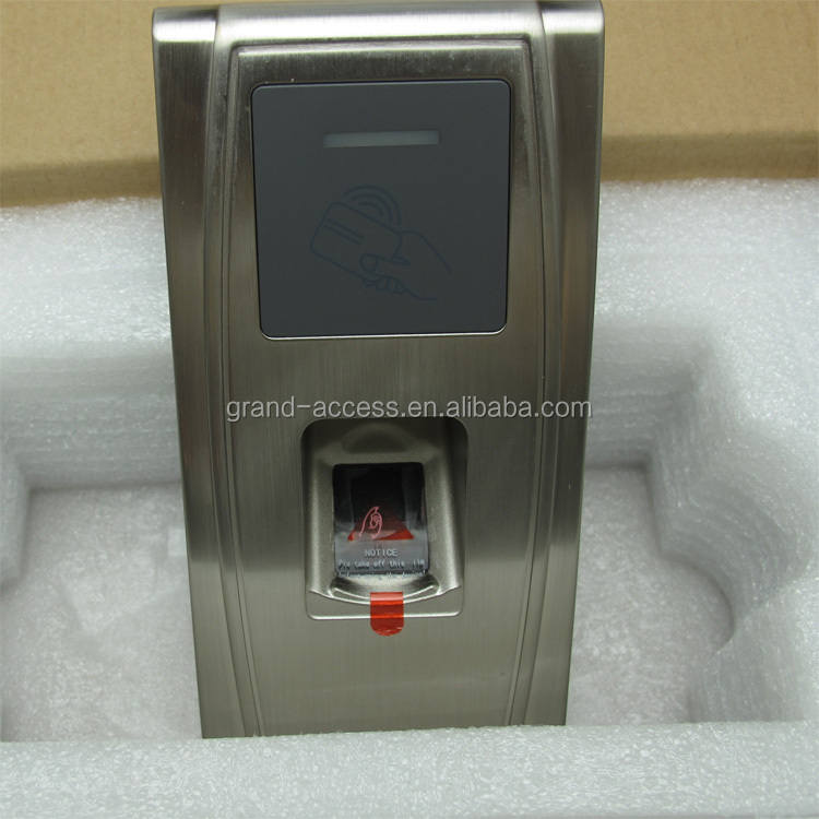 Waterproof fingerprint access control of MA300