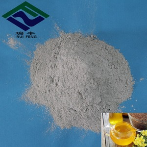 refined vegetable oil chemical formula of bleaching earth